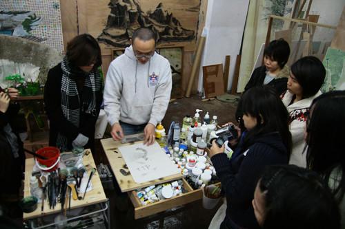 Image: Visit to Lam Tungpang's Studio | Lam Tung-Pang