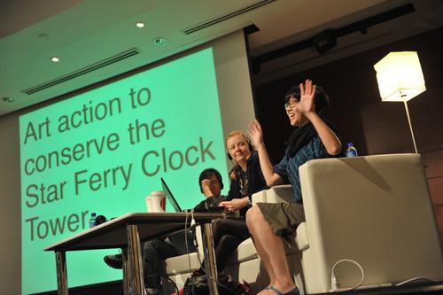 Image: Backroom Conversations at ART HK 2011