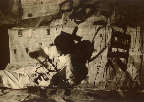 Image: Zhao Chuan, <i>Write at Will</i>, performance at <i>M Conceptual Art Performance Exhibition</i>, 1986. Courtesy of Zhao Chuan.