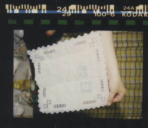 """Image: Ha Bik Chuen, Contact Sheet No.63 """"Kwok-Art Life For 30 Years"""" (3 of 3), 21 March 1998 (detail)."""