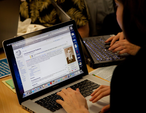 Image: The Wikimedia Foundation hosted a Women's History Month Edit-a-thon at its San Francisco office on 17 March 2012.