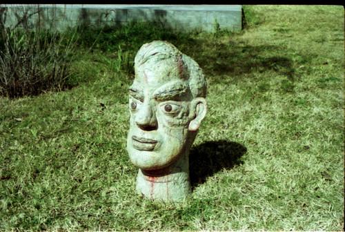 Artwork by K.P. Krishnakumar at Kasauli Art Centre
