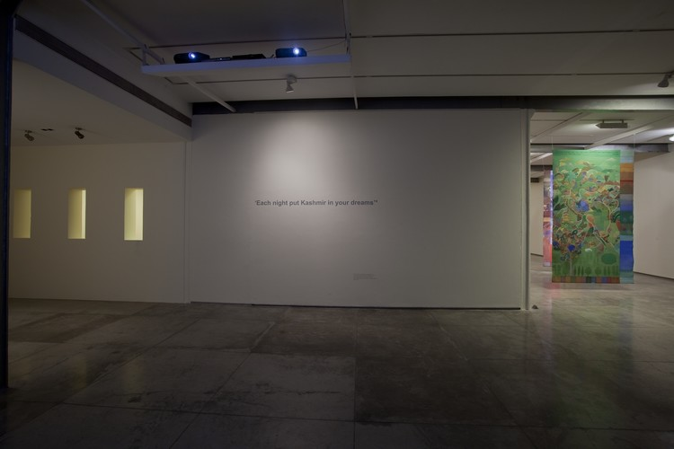 Each night put Kashmir in your dreams series (2003-2010)—Exhibition View