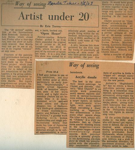 Way of Seeing: Artist under 20