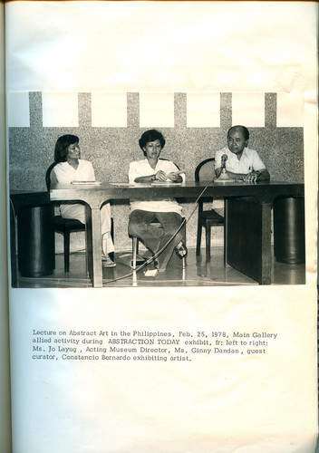 Philippine Abstract Art Lecture (Documentation)