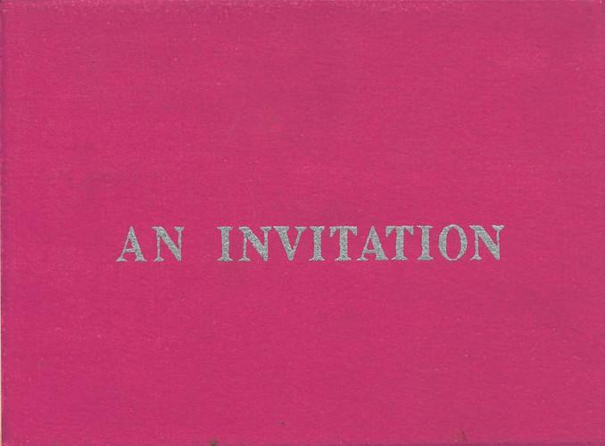 Art Association of the Philippines Exhibition — Exhibition Invitation