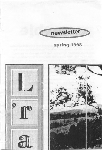 Lismore Regional Art Gallery Newsletter (Spring 1998)