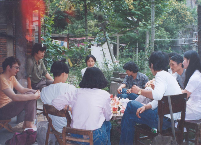 A Gathering after The 1st New Concrete Image Event in Shanghai (Set of 2 Photographs)