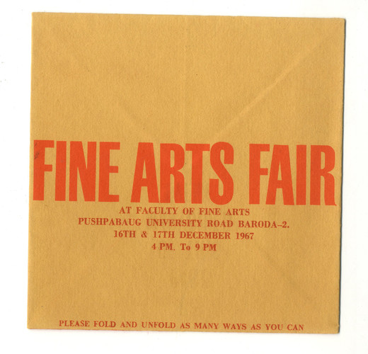 The Fine Arts Fair — Invitation