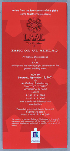 LAAL, The Passion of Zahoor ul Akhlaq