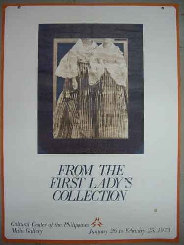 From the First Lady's Collection — Exhibition Poster