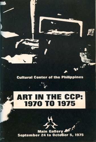Art in the CCP: 1970 - 1975 — Exhibition Poster