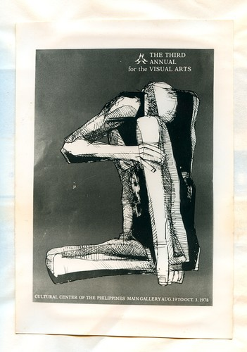 The Third CCP Annual for the Visual Arts — Exhibition Poster