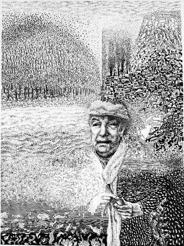 Neruda Portrait (Detail)
