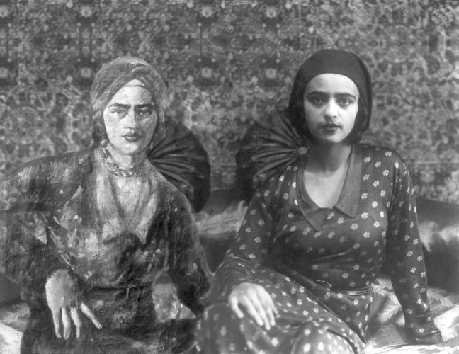 Amrita in Orientalist 'Turban'
