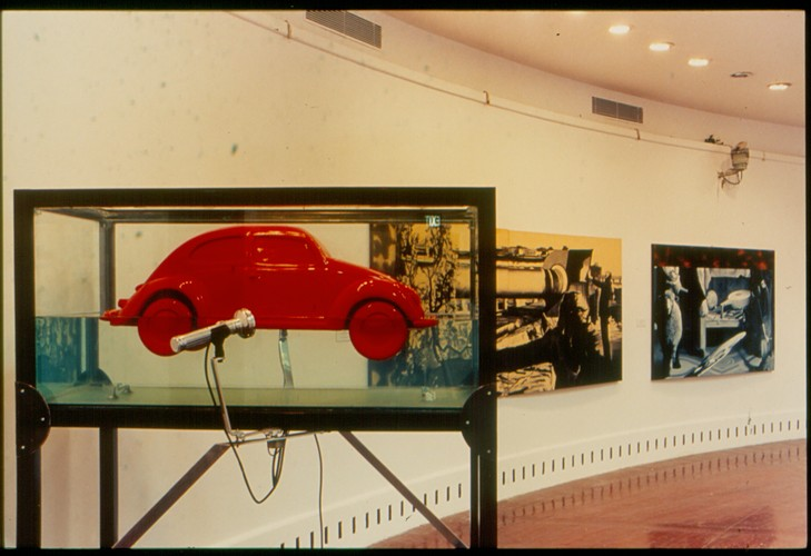 Untitled (Exhibition view)