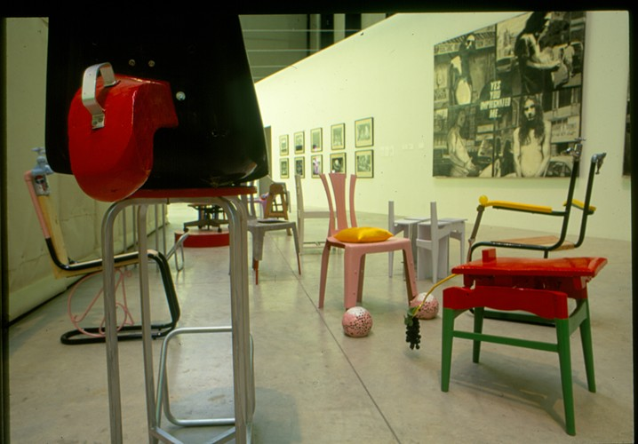 Assisted Ready-Mades: Chairs (Exhibition view)