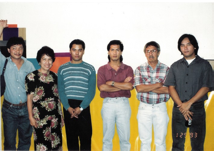 Roberto Chabet with Students
