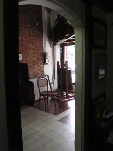 An Interior View of Salon Natasha