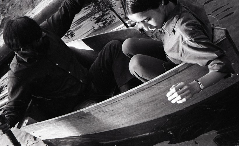 Raghav Kaneria at the Fine Arts Fair, 1969