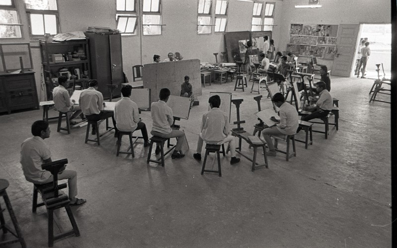Life Study Class at the Department of Painting
