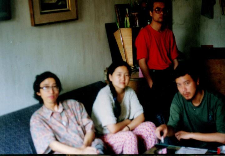 Wang Lin, Fu Liya, Zhang Xiaogang and Ye Yongqing, Chongqing, 1991