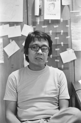 Photograph of Roberto Chabet