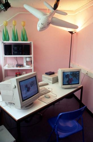 Neon Urlaub - Agency Version (Exhibition View)
