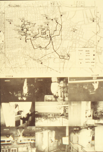 City Space: Moving, Leaping 12 Hours — Map of Touring Performance in the Urban Districts of Shanghai City