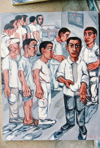Work by Zeng Fanzhi