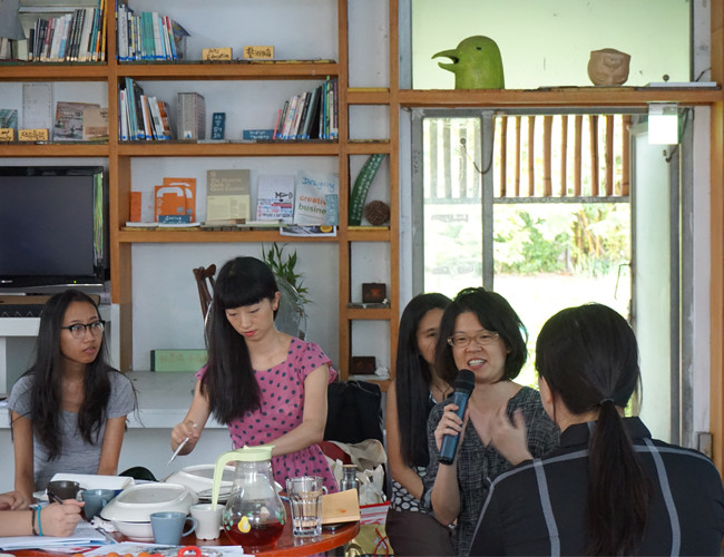 Image: Art and Environmental Education Network Roundtable in Taiwan, 2016.