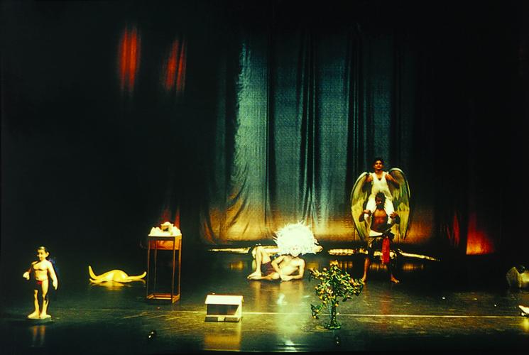 Photograph of Navlakha/Lao Jiu - The Ninth Born—Scene 01