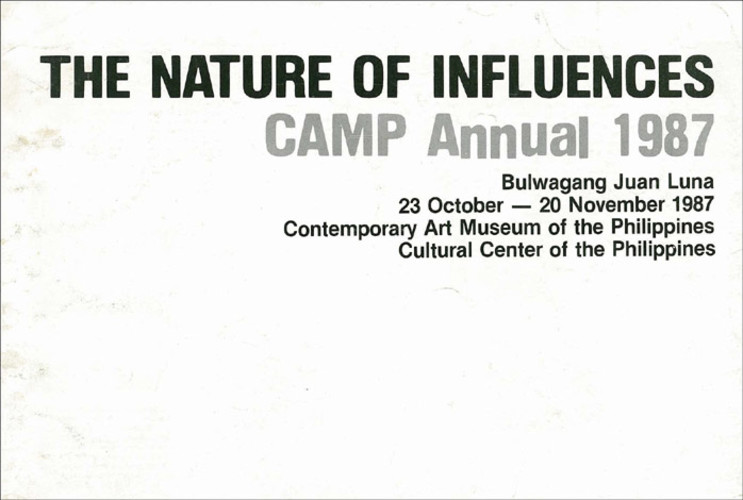 The Nature of Influences: CAMP Annual 1987