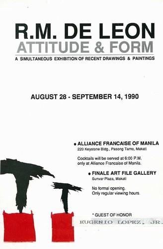 R.M. de Leon: Attitude & Form