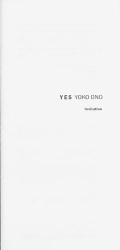 Yes Yoko Ono