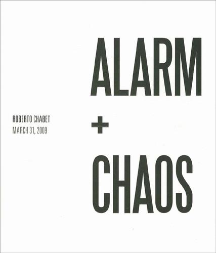 Roberto Chabet: Alarm + Chaos