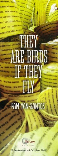 Pam Yan-Santos: They Are Birds If They Fly