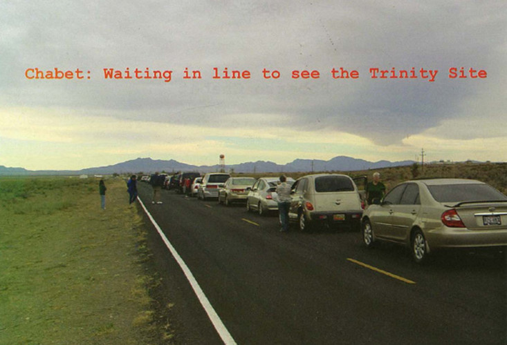 Roberto Chabet: Waiting in Line to See the Trinity Site